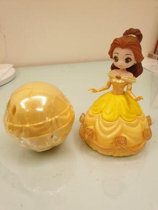 Disney公主扭蛋~貝兒