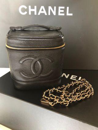 Chanel Caviar Vanity Box