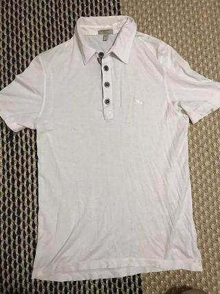 burberry london slim fit white polo tshirt s fred perry
