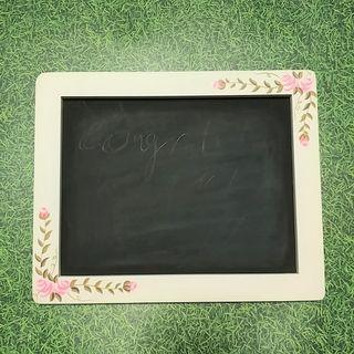 Vintage Style Handcrafted Chalkboard from Paris 30cm x 24cm