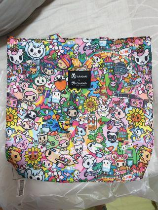 Tokidoki X Changi Mummy bag