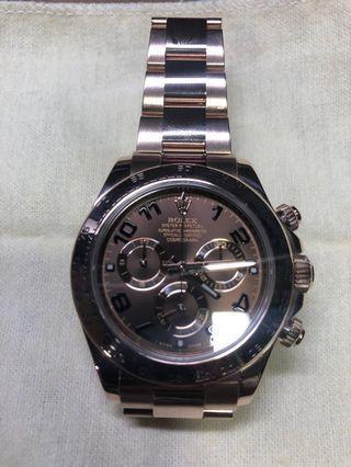 Rolex Daytona RoseGold Chocolate Ref No. 116505