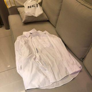 Net白色襯衫