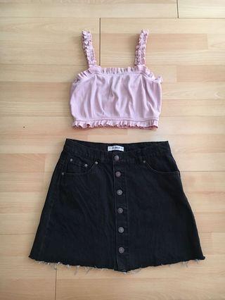 Pull and bear skirt 😍
