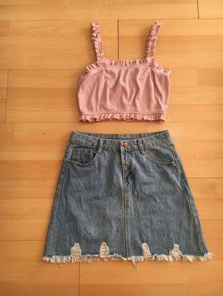 Denim skirt 😍