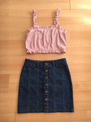 Buttondown skirt 😍