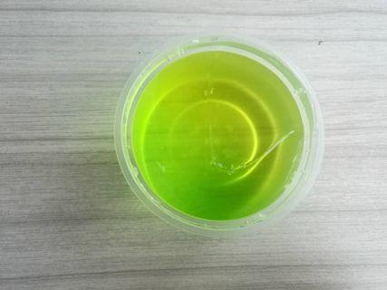 Lime clear slime