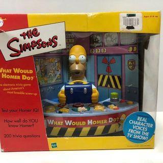 🚚 The Simpsons 辛普森家庭 荷馬 核電廠 遊戲組