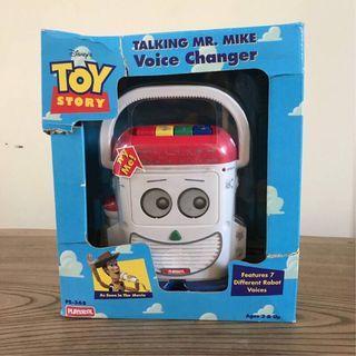 🚚 玩具總動員 稀有 絕版 第一代 麥克風先生 有盒