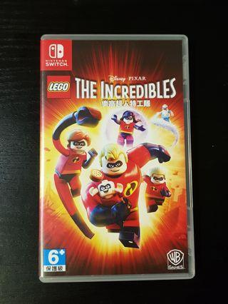🚚 Lego The Incredibles - Nintendo Switch game