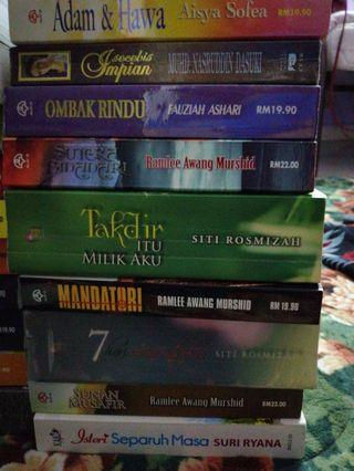Preloved novel malayu