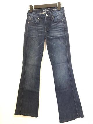 🚚 Designer Jeans Seven for All Mankind (sevens) size 24