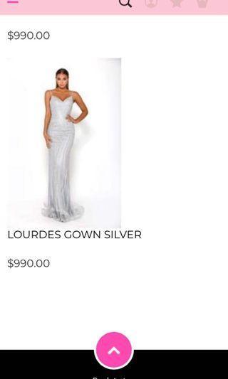 Lourdes formal dress