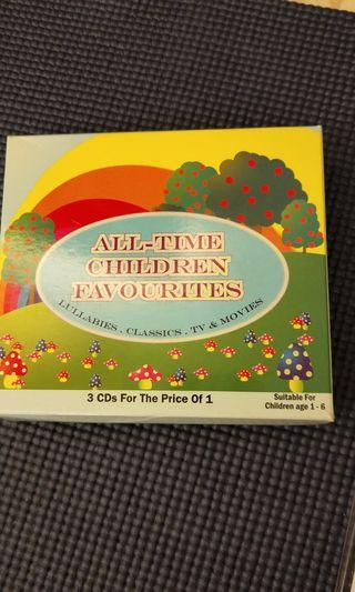 🚚 #ENDGAMEyourEXCESS All Time Children Favourites Lullabies CD