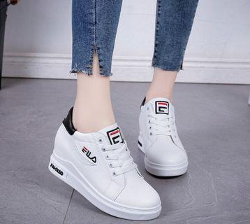 💫fila sneakers platform covered shoes