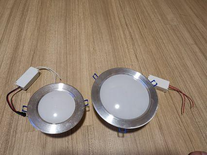 Ceiling lights for false ceiling.