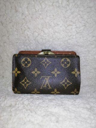 Louis Vuitton Kisslock Wallet Original