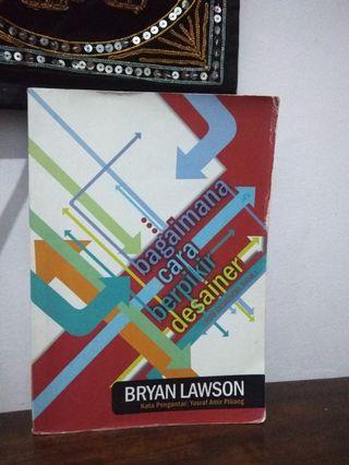 """Buku Desain """"Bagaimana Cara Berpikir Desainer (How Designers Think)"""" oleh Bryan Lawson"""