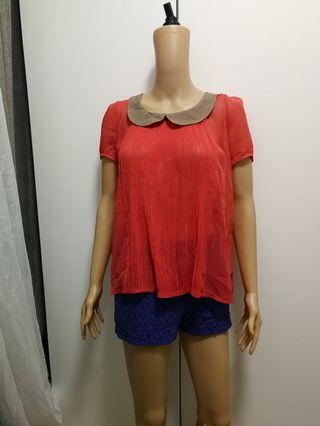 Bayo Baby Collared Top