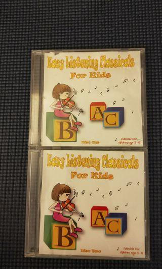 🚚 #ENDGAMEyourEXCESS Easy Listening Classicals For Kids CDs