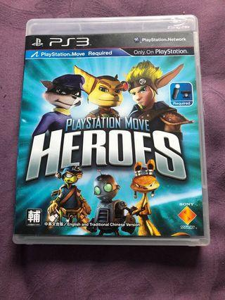 Sony PlayStation ps3 heroes
