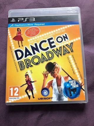 Sony PlayStation ps3 dance on broadway