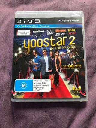 Sony PlayStation ps3 yoostar 2 in the movies