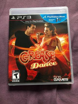 Sony PlayStation ps3 grease dance