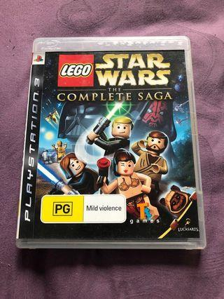 Sony PlayStation ps3 LEGO Star Wars complete saga