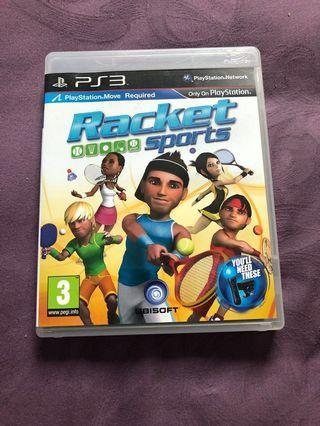 Sony PlayStation ps3 racket sports