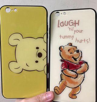 Winnie the Pooh 6s plus 手機殼 2個