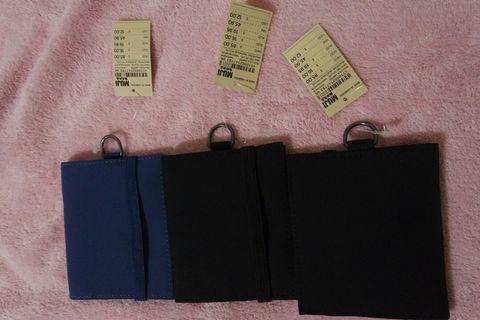 Muji travel wallet - price each
