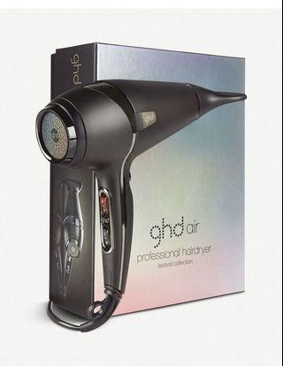 $980 ghd hair blow dryer 頭髮造型風筒💇🏻 #rainbow 限量版 festival limited ✨