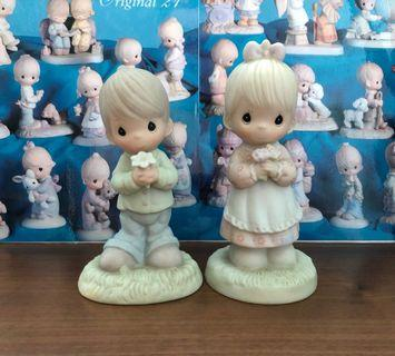 Precious Moments ~ Mommy I Love You (Pair of 2)