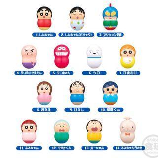 蠟筆小新 不倒翁 扭蛋 Crayon Shinchan Coonuts