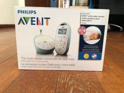 Philips Avent Dect Audio Baby Monitor SCD560