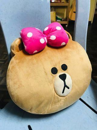 Line Friends - Choco with Pink Ribbon #EST50