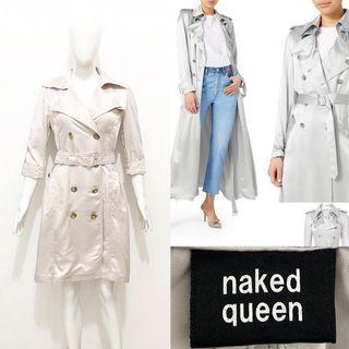 Naked queen trench coat / blazer coat / outer