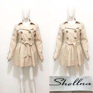 Shellna trench coat / blazer coat / outer