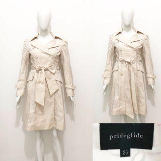 Prideglide long trench coat / blazer coat / outer