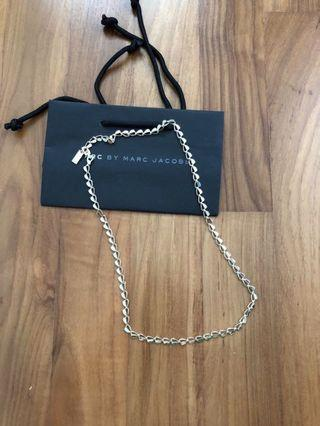 Authentic Marc Jacobs Heart Necklace