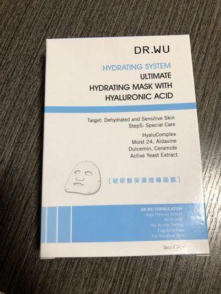 Dr.wu 玻尿酸保濕面膜