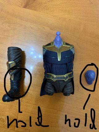 Marvel Legends Thanos Baf $60each