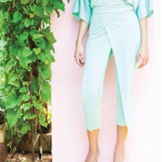 New With Tag LOVO Clothing Trousers / Celana Mint Green / Hijau