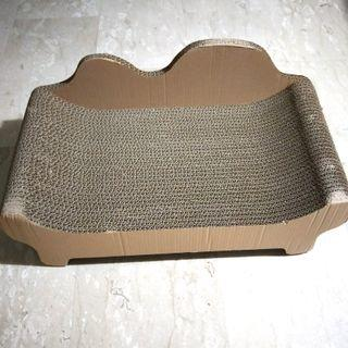 Large Sturdy Corrugated Cardboard Scratch Sofa Pad