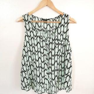 Forever 21 Mint Green Top
