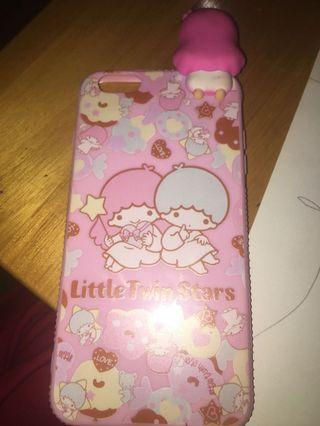 Case iPhone 6s+ little twin star with doll