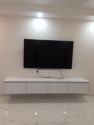 Customised TV Console/ pls provide size for quote