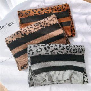 🚚 韓國豹紋暖暖圍巾