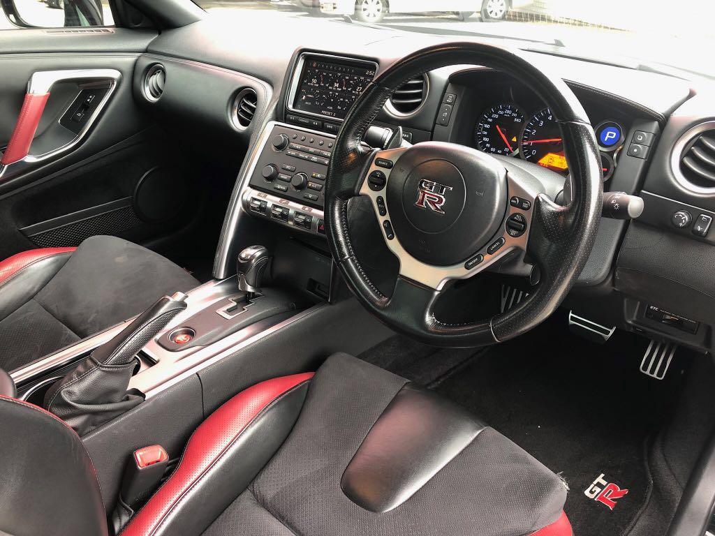 2008 NISSAN GTR R35